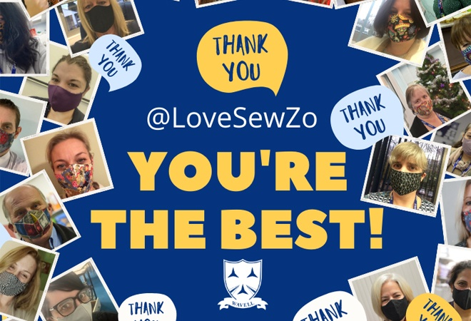 Thank You Sew Zo!